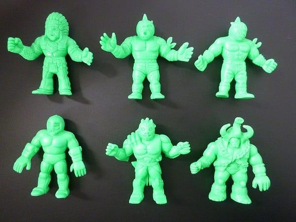 キン消し バトルコレクション バトコレ 緑色 6体