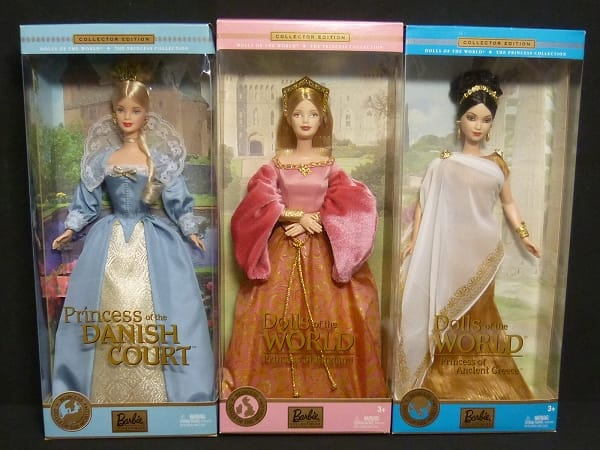 Barbie ドールオブザワールド プリンセス イングランド