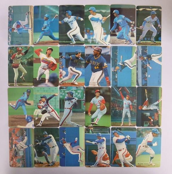 ロッテ ベースボールカード 1989年 No.2~110 24枚