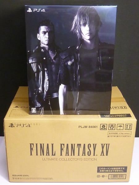PS4 FF15 アルティメットコレクターズエディション 限定