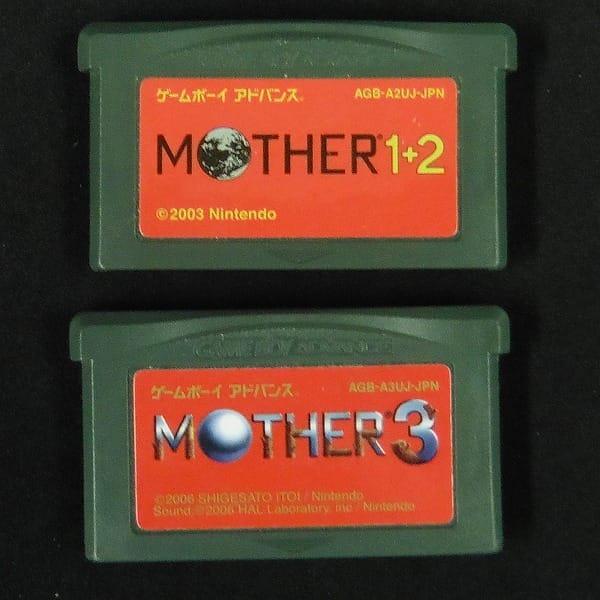 MOTHER 1+2 3 ゲームボーイアドバンス / マザー GBA