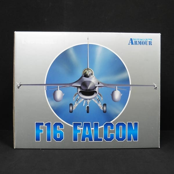 ARMOR COLLECTION 1/48 F16 米空軍 トリプルニッケル