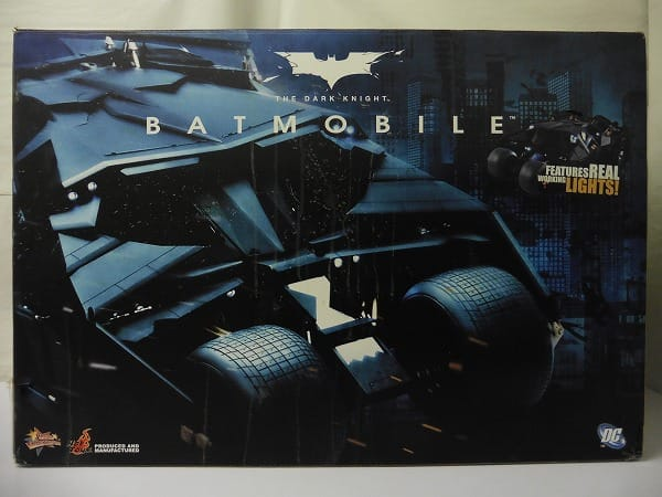 ホットトイズ MMP 1/6 バットマン バットモービル
