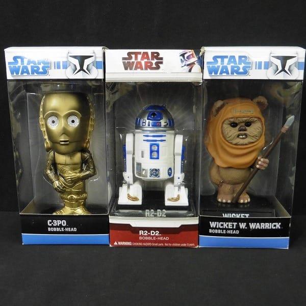 FUNKO STARWARS ボビングヘッド R2-D2 C-3PO ウィケット