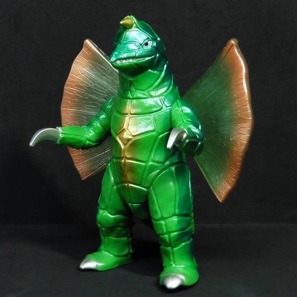 怪獣郷 ソフビ ドラコ グリーン 日本製 / ウルトラマン