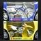 NewRay バイク 1/6 ヤマハ YZ450F 青 スズキ RM-Z450 黄