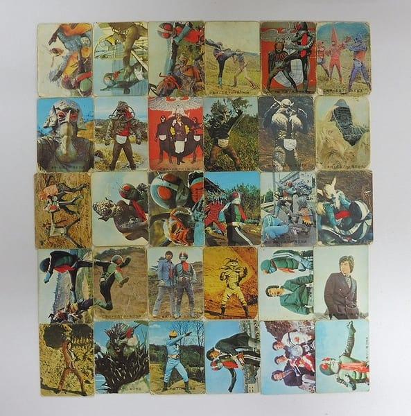 カルビー 当時物 旧 仮面ライダー カード 53-135 30枚