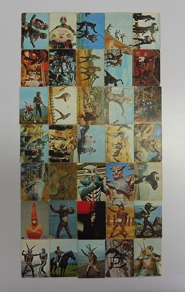 カルビー 当時物 旧 仮面ライダー カード 137-194 35枚