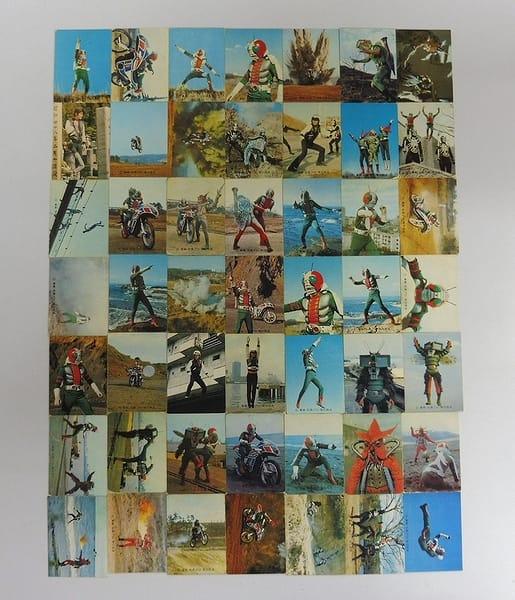カルビー 当時物 旧 仮面ライダーV3 カード 1-93 49枚