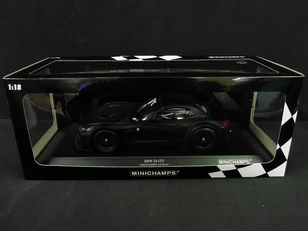 ミニチャンプス 1/18 BMW Z4 GT3 LIMITED EDITION