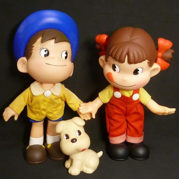不二家 当選品 ペコちゃん ポコちゃん ドッグ 人形