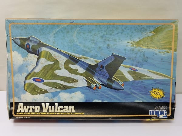 MPC 1/72 アブロ バルカン /イギリス空軍 爆撃機 プラモ