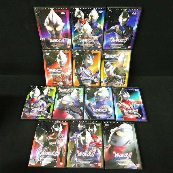 ウルトラマンティガ DVD 全13巻 TVシリーズ全52話コンプ