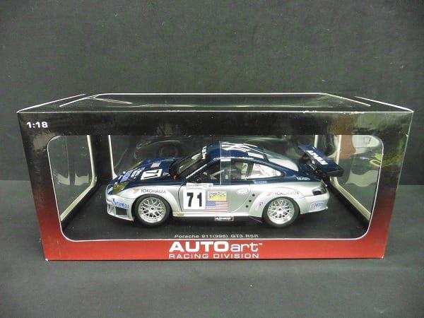 オートアート 1/18 ポルシェ 911 996 GT3 RSR ALMS 2005