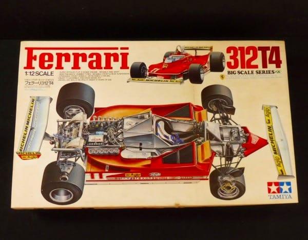 タミヤ 1/12 フェラーリ 312T4 ビッグスケールシリーズ