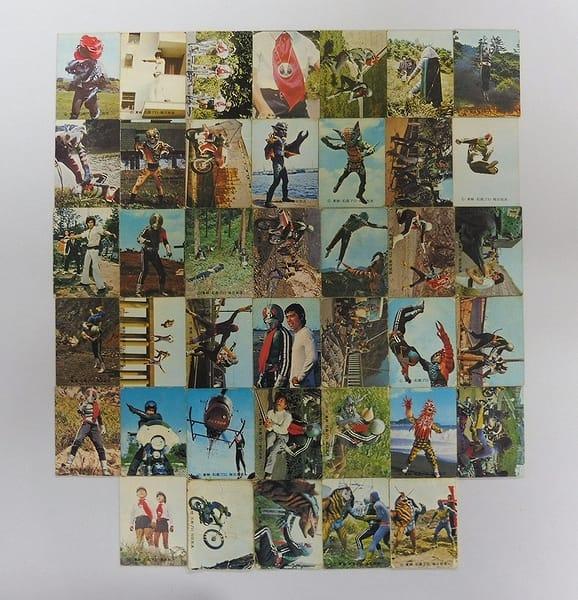 カルビー 旧 仮面ライダー カード 257-357 40枚 当時物