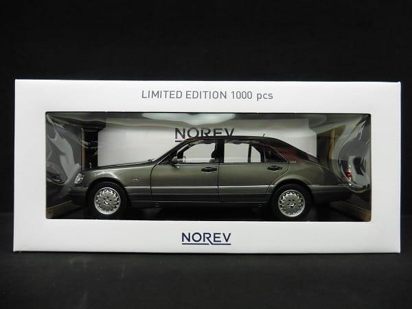 ノレブ 1/18 メルセデス ベンツ S600 Limited Edition