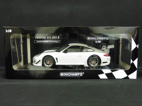 ミニチャンプス 1/18 ポルシェ 911 GT3 R ホワイト