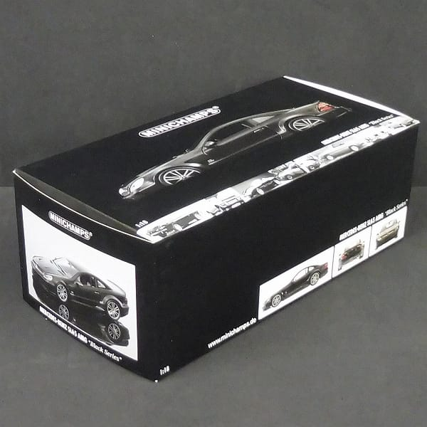 ミニチャンプス 1/18 メルセデス・ベンツ SL65 AMG 黒
