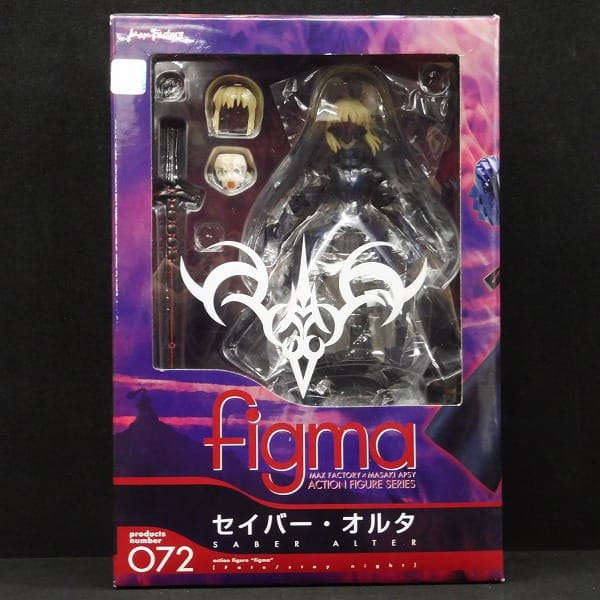 Max Factory figma Fate/staynight セイバーオルタ