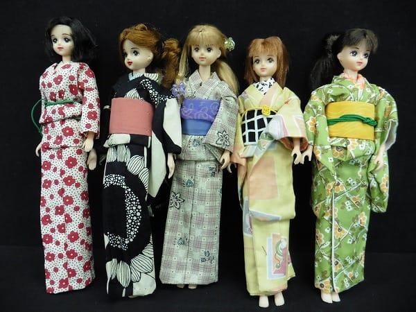 ジェニー 着せ替え人形 まとめ / フレンド 浴衣 着物