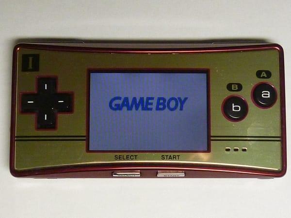 任天堂 ゲームボーイミクロ ファミコンバージョン 本体
