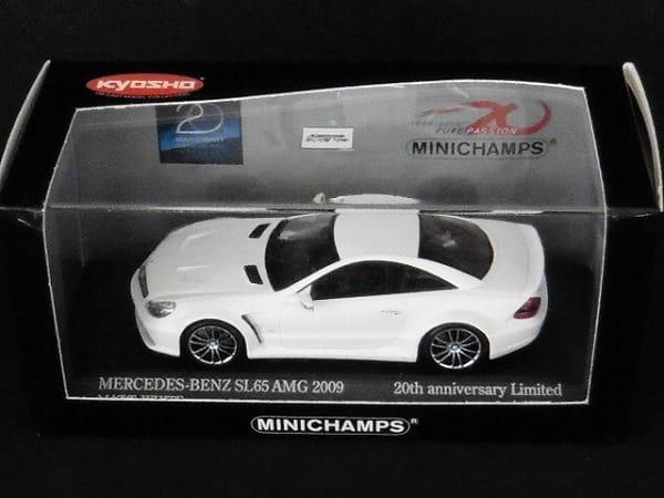ミニチャンプス 限定 1/43 ベンツ SL65 AMG 2009 /京商