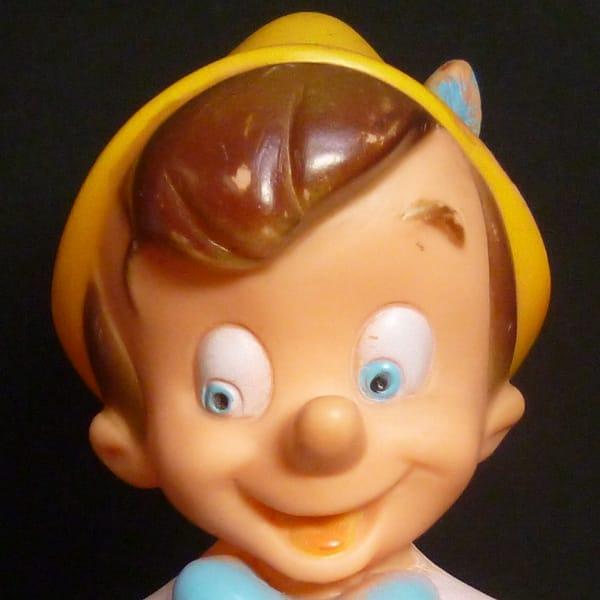 JUGASA ピノキオ ディズニー 笛入り ソフビ ビンテージ