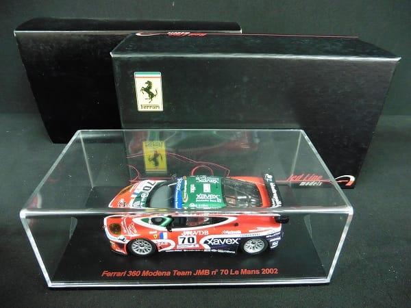 レッドライン 1/43 フェラーリ 360 モデナ LM '02 #70