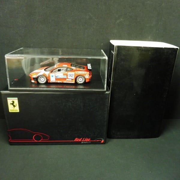 レッドライン 1/43 フェラーリ F360 モデナ Cirtek #92