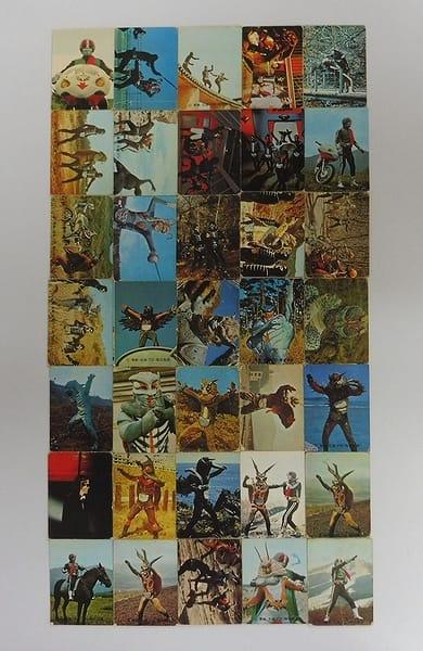 カルビー 当時物 旧 仮面ライダー カード 140 - 195