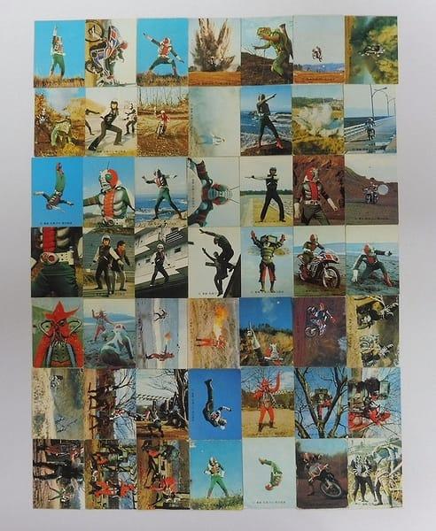 カルビー 当時物 旧 仮面ライダーV3 カード 1-119 49枚