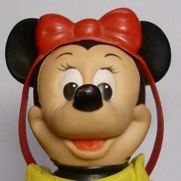 DAKIN ミニーマウス ソフビ ディズニー ビンテージ 人形