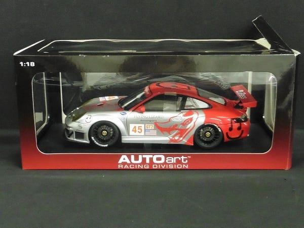 オートアート 1/18 ポルシェ 911 GT3 RSR ALMS GT2 2006