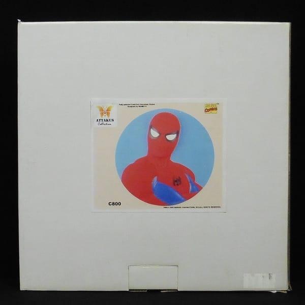 ATTAKUS スパイダーマン 壁掛けタイプ スタチュー 円形