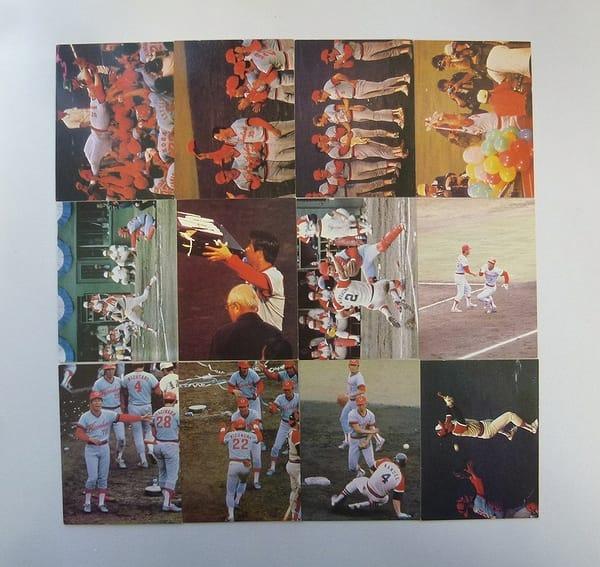 カルビー プロ野球 カード 79年 日本シリーズ 12枚