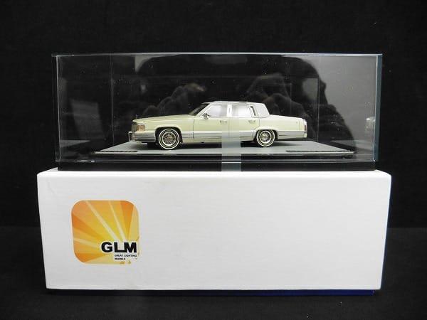 GLM 1/43 キャデラック ブロアム ホワイト / Brougham