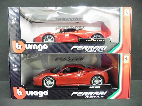 ブラーゴ 1/18 ラ・フェラーリ 488 GTB / Ferrari