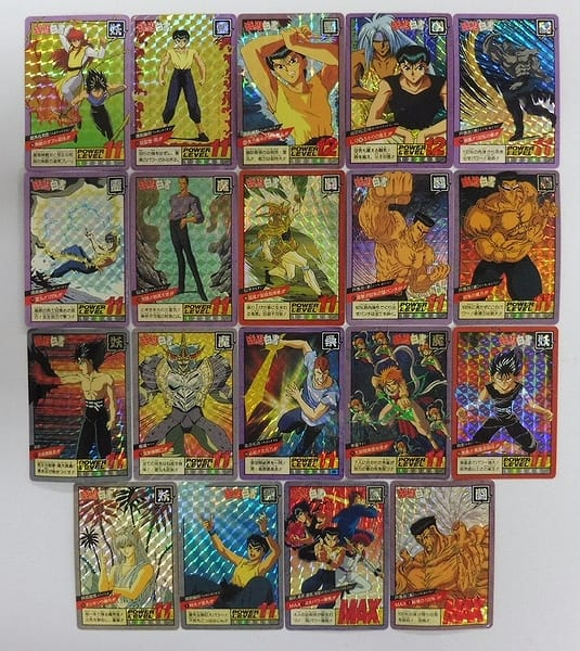 幽遊白書 カードダス スーパーバトル 隠れ キラ 飛影