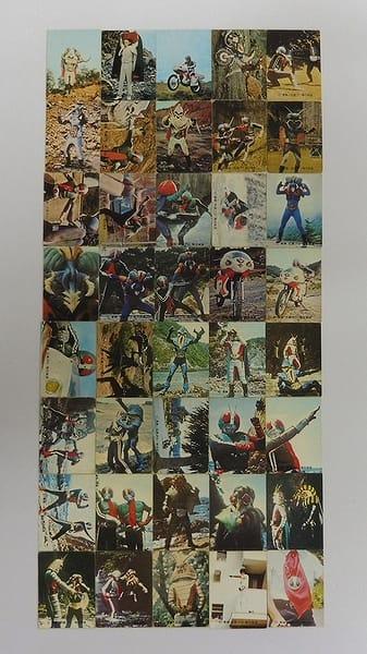 カルビー 当時物 旧 仮面ライダー カード 201-264 40枚