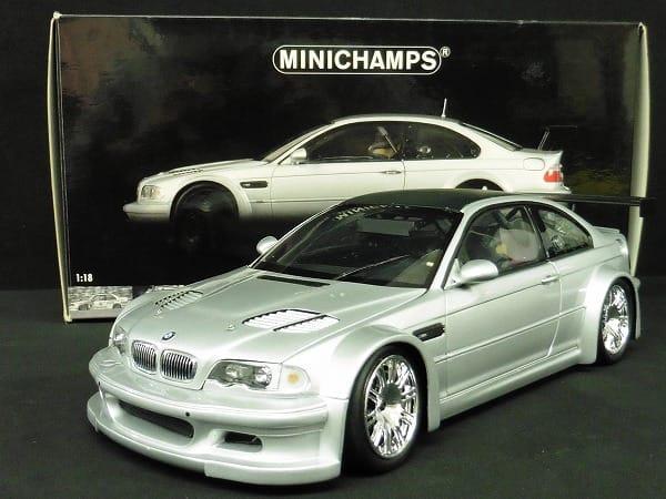 ミニチャンプス 1/18 BMW M3 GTR 'STREET' 2001
