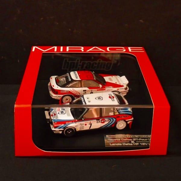 hpi 1/43 MIRAGE モンテカルロ 1990 スペシャルセット