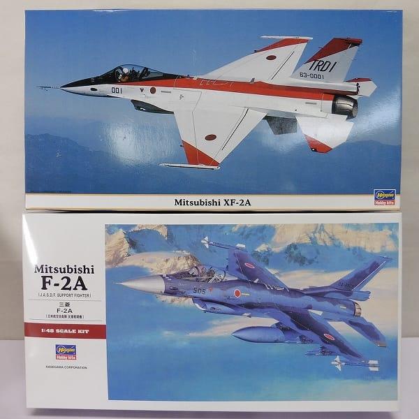 ハセガワ 1/48 三菱 XF-2A [特別仕様]  F-2A / プラモ