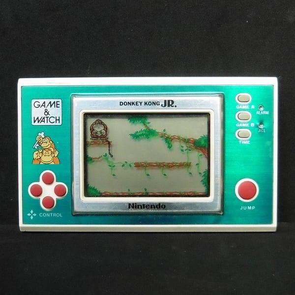 任天堂 ゲームウォッチ ドンキーコングJr. グリーン