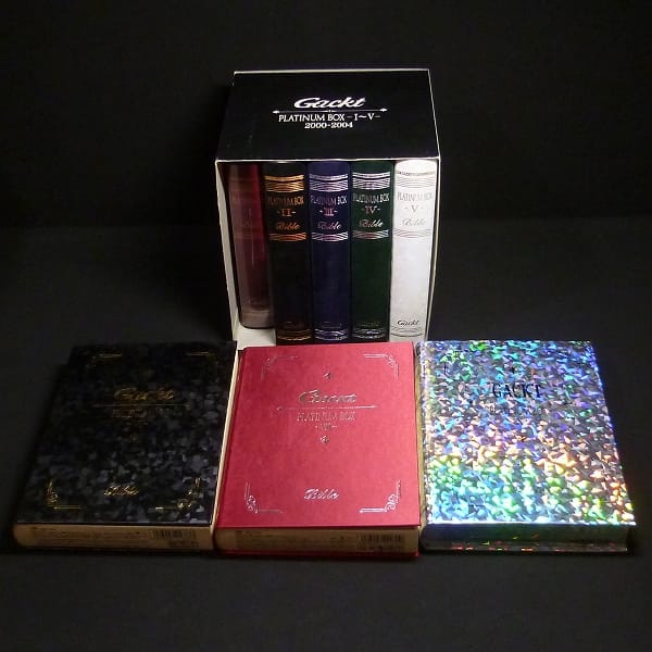 Gackt PLATINUM BOX 1~7 , 10 各種特典 収納BOX付き