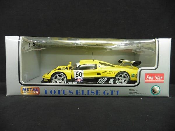 サンスター 1/18 ロータス エリーゼ GT1 FRANCK MULLER