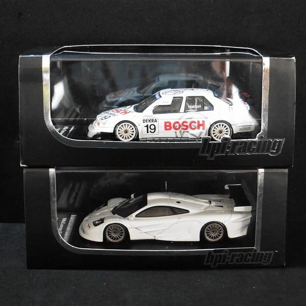 hpi 1/43 アルファロメオ 155 V6 T マクラーレン F1 GTR