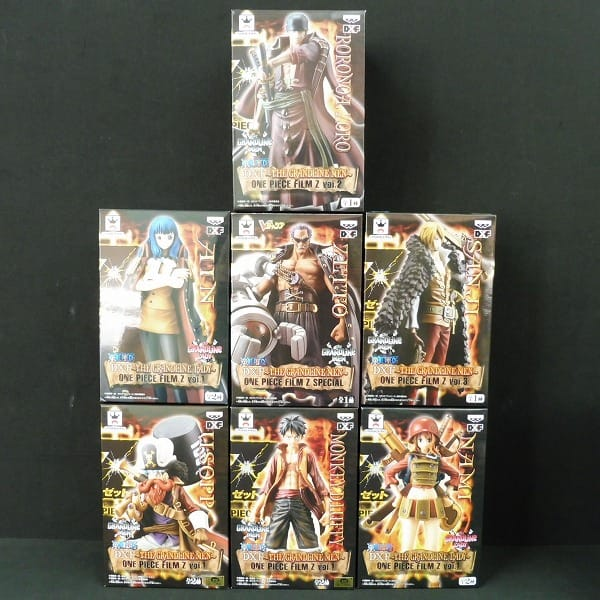 ONEPIECE DXF フィルムZ ルフィ ゾロ サンジ 他