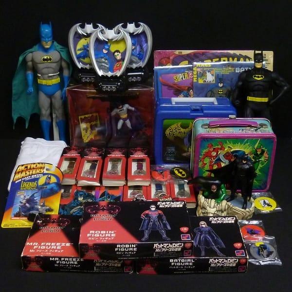 バットマン他まとめて フィギュア 腕時計 レコード他