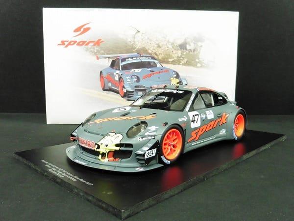 スパーク 1/18 ポルシェ 997 RSR GT3 No.47 HARIBO